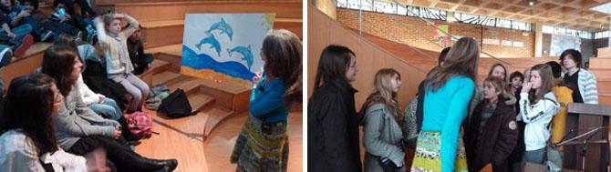 Le dauphin dans les projets scolaires