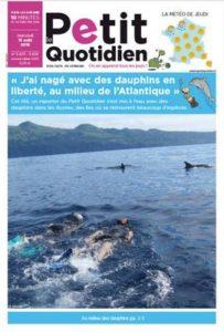 Nager avec les dauphins Le Petit Quotidien